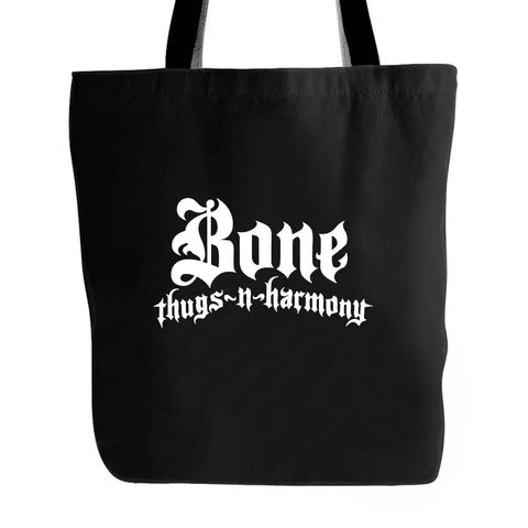 Bone Thugs N Harmony Logo Classic Hip Hop Eazy Ruthless Rap Vintage Style New Rappers Music Tote Bag