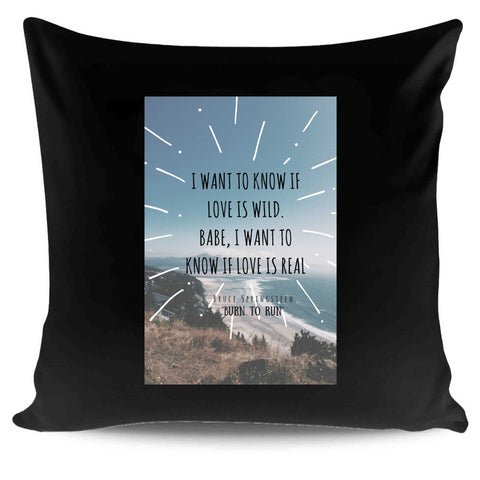 Born To Run Bruce Springsteen The Boss Birthday Gift Rock Pillow Case Cover