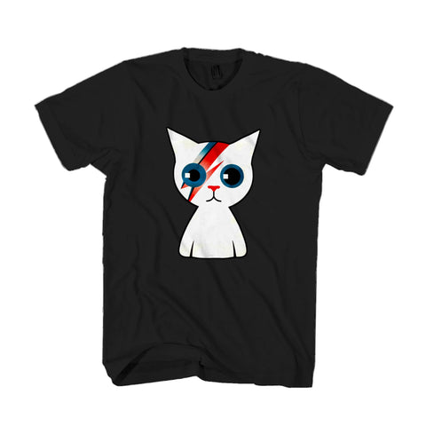 Bowie Kitty Cat David Bowie Ziggy Stardust Man's T-Shirt