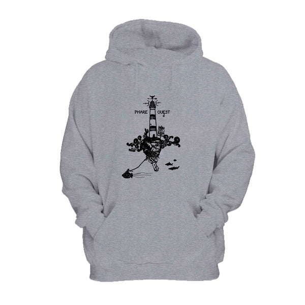 Brother Gift Sailor Sailing Submarine Lighthouse French Touch Octopus Hoodie
