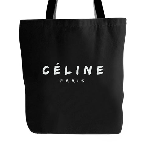 Celine Paris Logo Tote Bag