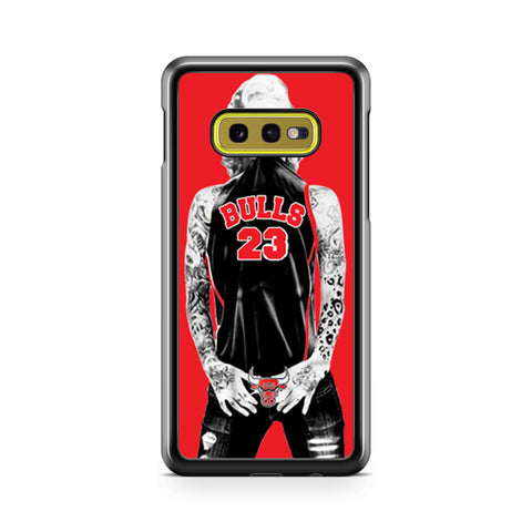 Chicago Bulls Jersey Marilyn Monroe Samsung Galaxy S10 Case