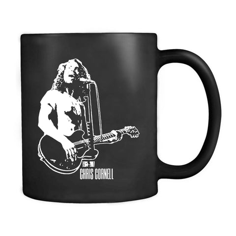 Chris Cornell 1964 2017 Tribute Rip Soundgarden Audioslave Grunge 90s Mug