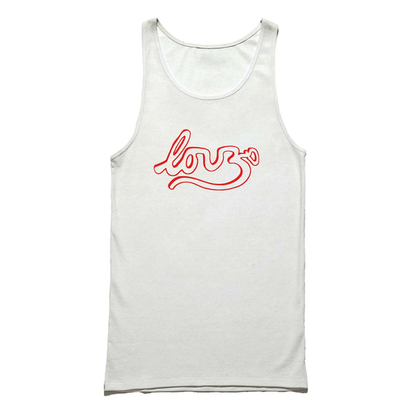 Clearance Yoga Love Under 10 Baseball Valentine Tank Top