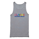 Crayon Design Halloween Trick Or Treat Tank Top