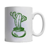Cute Succulent Plants Graphic Mug
