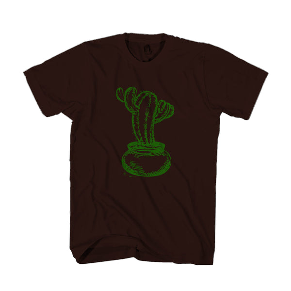 Cute Succulent Plants Graphic Man's T-Shirt