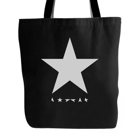 David Bowie Black Star Tote Bag