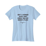 Dear Mama Tupac Lyrics Mothers Day Rap Hip Hop 90s Music Women's T-Shirt