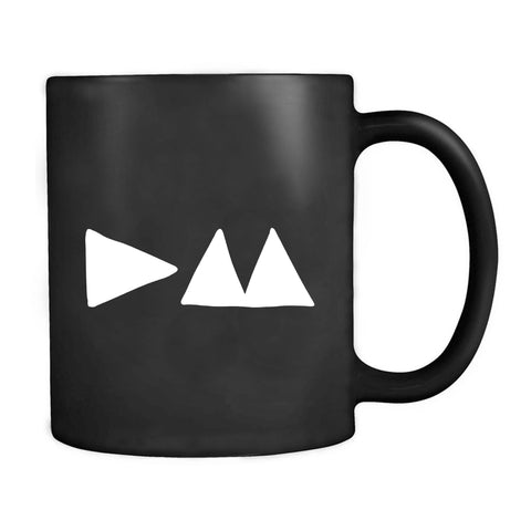 Depeche Mode Delta Machine Music Album Dm Graphic Art Initials Logo Fan Mug