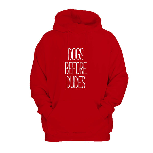 Dogs Before Dudes Funny Dog Animal Lover Puppy Tumblr Hoodie