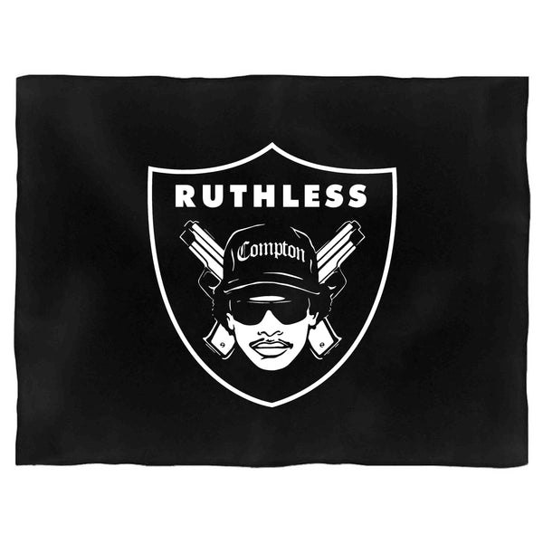Eazy E Nwa Raiders Logo Ruthless Blanket