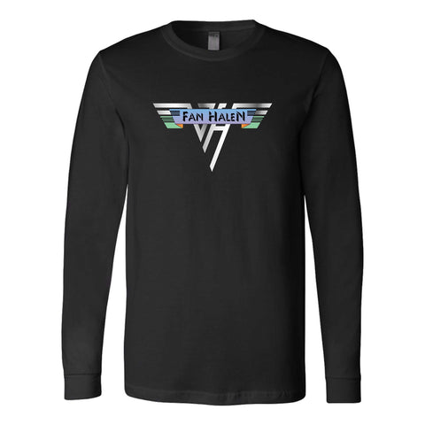 Eddie Van Halen Hard Rock Heavy Metal Graphic Long Sleeve T-Shirt