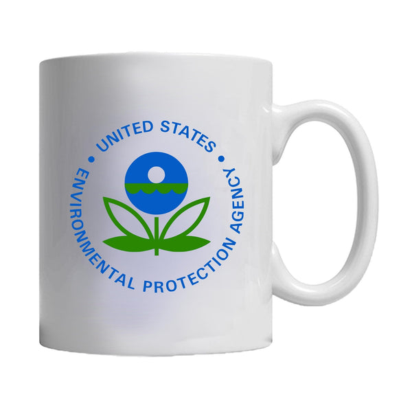 Epa Us Environmental Protection Agency Logo Government United States Mug