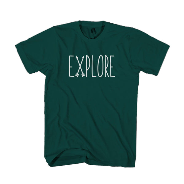 Explore Nature Yeti Tumblr Man's T-Shirt