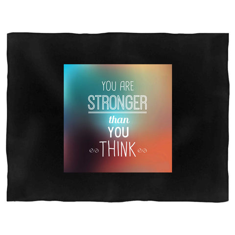 Fact Goods You Are Stronger Than You Think Blanket