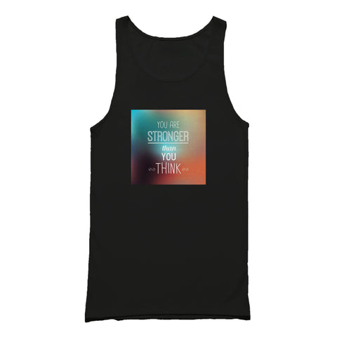 Fact Goods You Are Stronger Than You Think Tank Top
