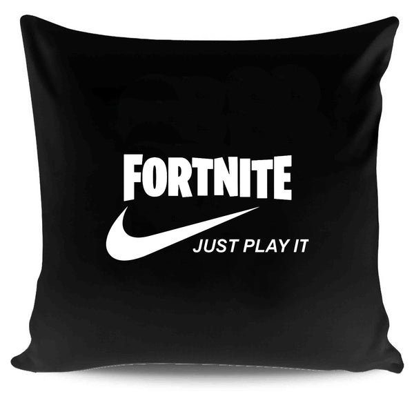 Fortnite Just Play It Run Dmc Logo Pillow Case Cover