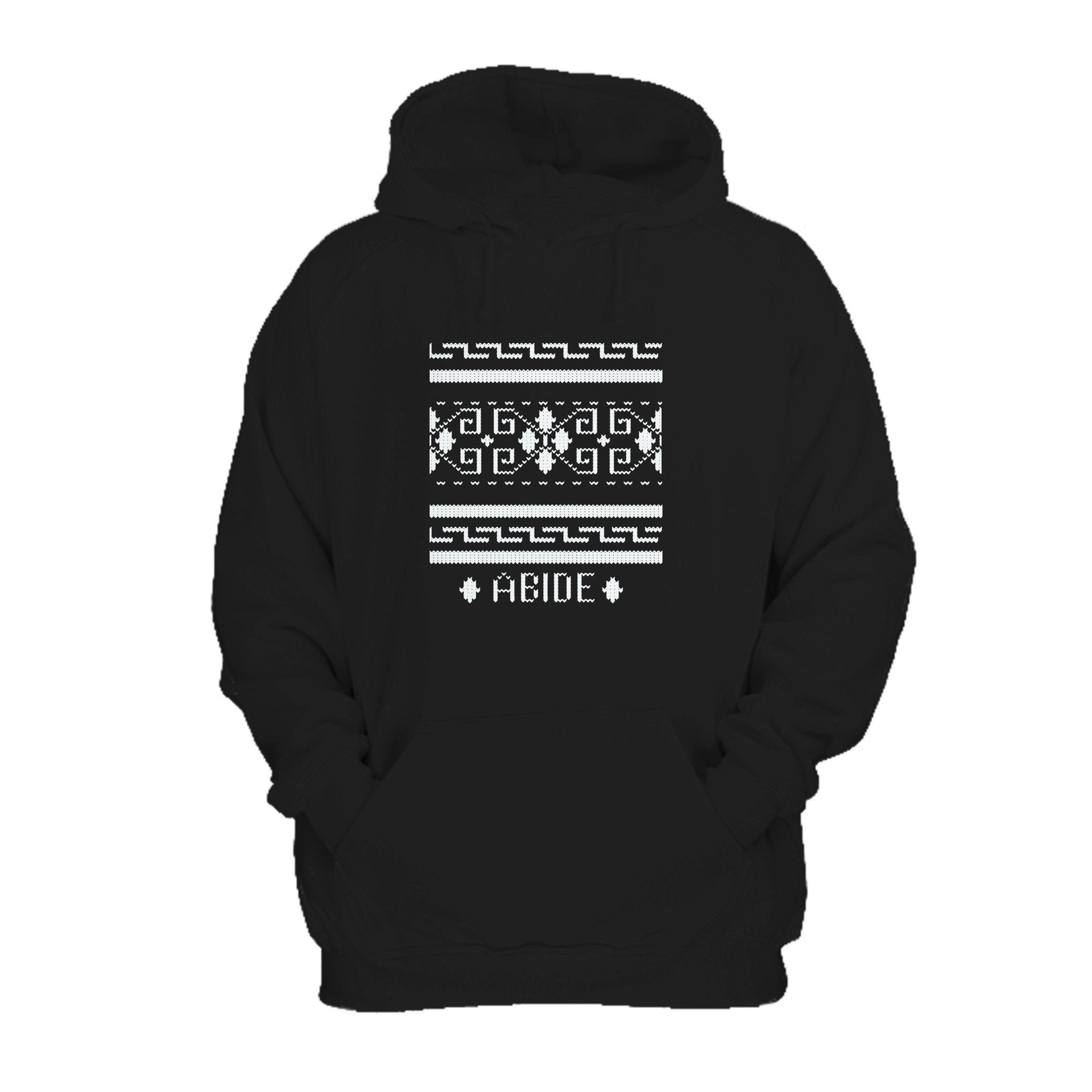 Funny Big Lebowski Abide Film The Dude Cohen Brothers Jeff Bridges John Goodman Comedy Geometric Caucasians Hoodie