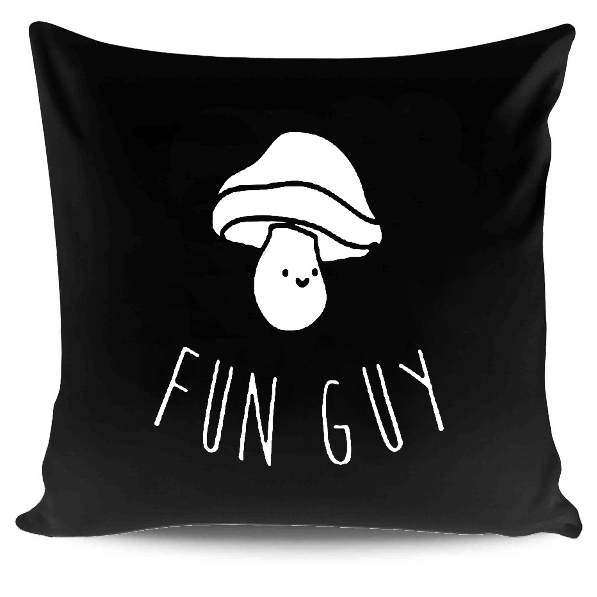 Funny Mushroom Fun Guy Pillow Case Cover