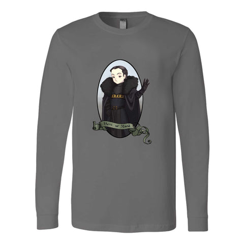 Game Of Thrones Got Girl Power House Lady Mormont Lyanna Long Sleeve T-Shirt