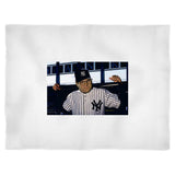 George Costanza Baseball Funny Larry David Seinfeld Blanket