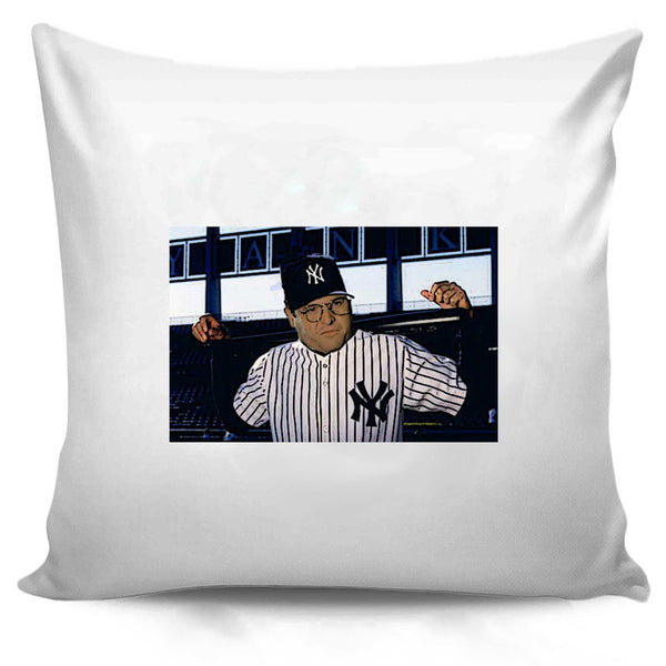 George Costanza Baseball Funny Larry David Seinfeld Pillow Case Cover