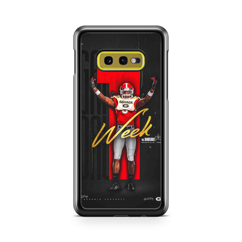 Georgia Bulldogs Player Samsung Galaxy S10 Case