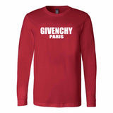 Givenchy Paris Logo Hot New Hypebeast Long Sleeve T-Shirt
