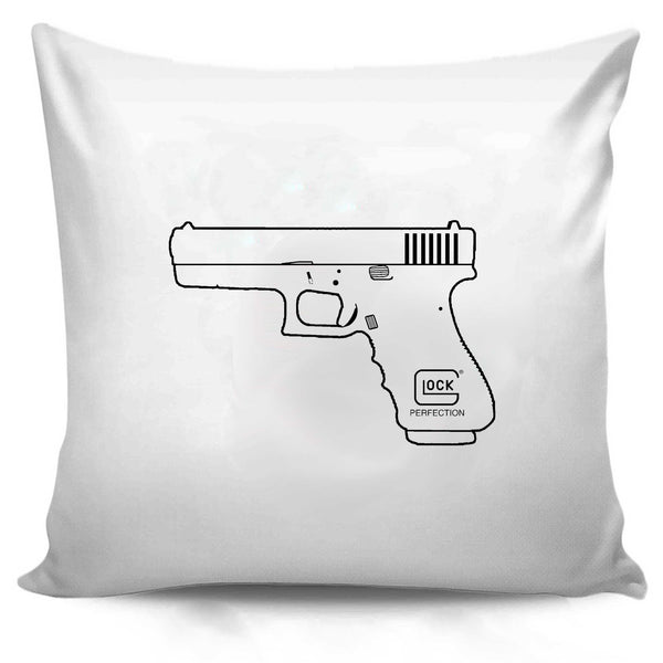 Glock Perfection Pro Pistol Gun Engineering American Usa Shooting Range Army Tea Party Pillow Case Cover