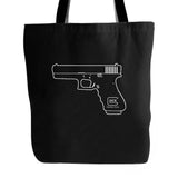 Glock Perfection Pro Pistol Gun Engineering American Usa Shooting Range Army Tea Party Tote Bag