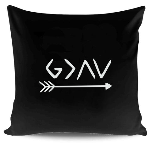 God Is Greater Than The Highs And Lows Faith Christian Boho Pillow Case Cover