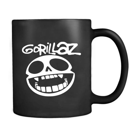 Gorillaz Band Logo Hip Hop Trip Hop Alternative Rock Electronica Mug