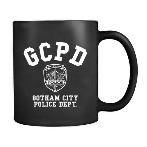 Gotham City Police Dept James Gordon Batman The Law Righteous Mug