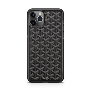 Goyard Paris Black Pattern iPhone 11 Pro Max Case