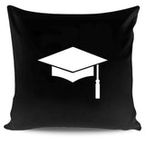 Graduation Hat Die High School College Party Pillow Case Cover
