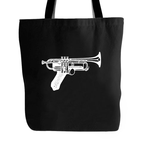 Gun Trumpet Jazz Music Musician Instrument Tote Bag