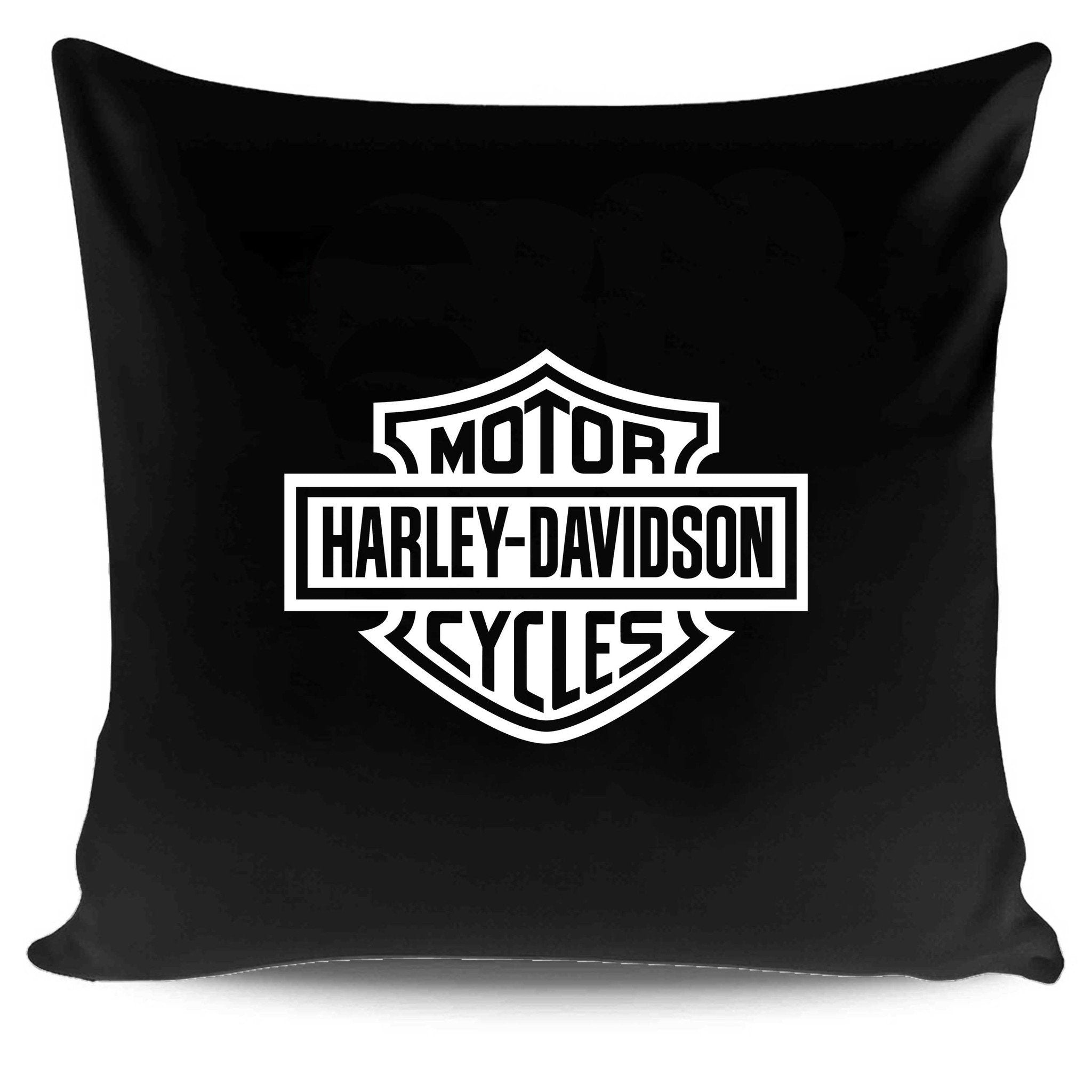 Harley Davidson Logo Vector Design Format For Cricut And Silhouette Pillow Case Cover