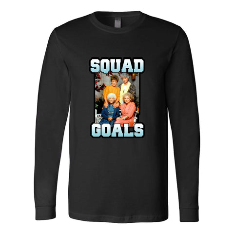 Hocus Pocus Squad Goals Halloween Fall Witches Long Sleeve T-Shirt