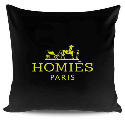Homies Paris Tumblr Swag Dope Hermes Pillow Case Cover
