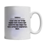 I Before E Except Grammar Rule 11 Or 15 Oz Mug