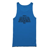I Before E Except Grammar Rule 11 Or 15 Oz Tank Top