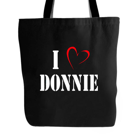 I Heart Donnie Nkotb Fan Inspired Tote Bag