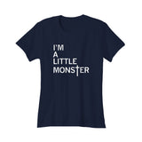 I'm A Little Monster Lady Gaga Vintage Women's T-Shirt