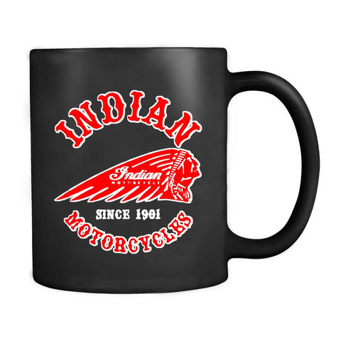 Indian Motorcycle Logo Biker Rocker Since 1901 Mug