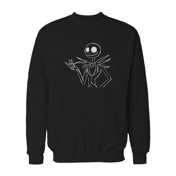 Jack Skellington Nightmare Before Christmas Sweatshirt