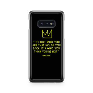 Jean Michel Basquiat Quote Murals Art Samsung Galaxy S10 Case