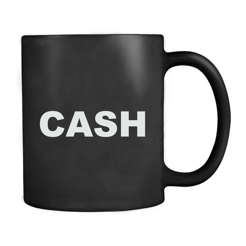 Johnny Cash Inspired Guitar Country Music Mug