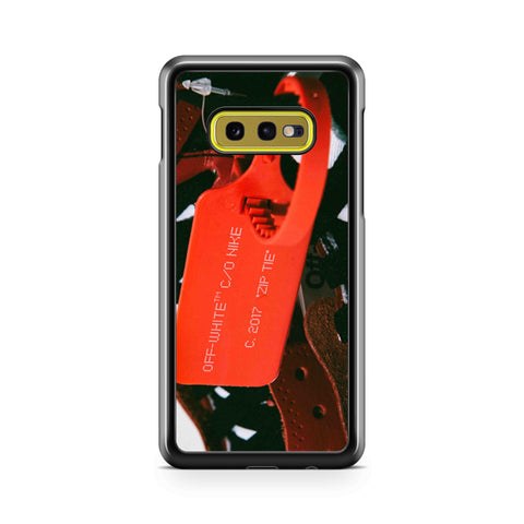Jordan Retro Off White Chicago Samsung Galaxy S10 Case