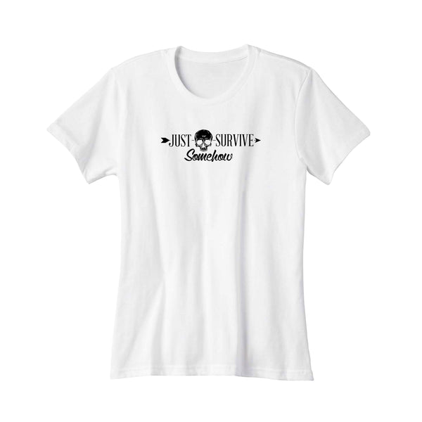 Just Survive Somehow Survival People Women's T-Shirt